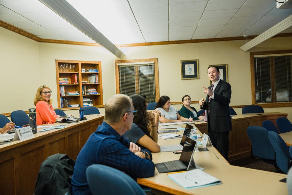 Dr. Keenan Yoho Teaching